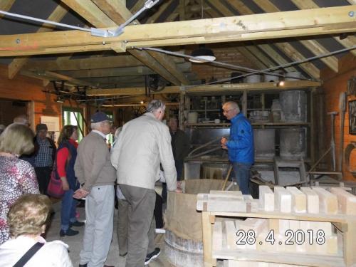 Glasfabrik Gernheim und Weserscheune