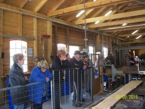 Besuch des Bürgervereins im Upjever-Forst